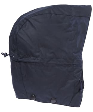 Barbour Storm Waxed Hood - Navy