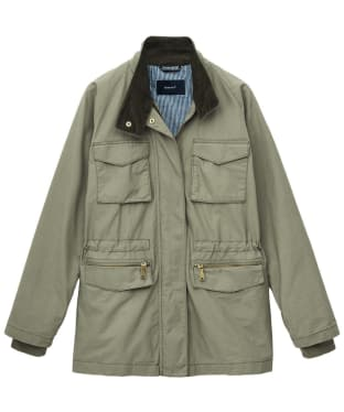 Women's Gant Utility Jacket - Tent Green
