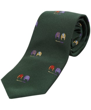 Men's Soprano Jockey Colours Tie - Green