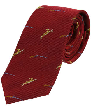 Men's Soprano Hares and Shotgun Tie - Red
