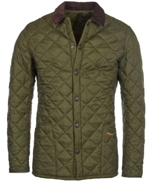 Men's Barbour Heritage Liddesdale Quilted Jacket - Olive