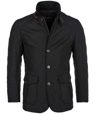 Men's Barbour Quilted Lutz Jacket - Black