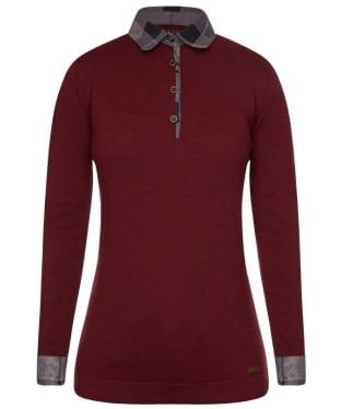 Barbour Hepscott Long Sleeved Knitted Polo Shirt