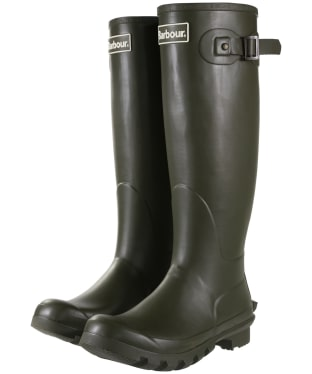 Women's Barbour Bede Wellington Boots - Olive