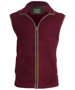 Women's Alan Paine Aylsham Fleece Gilet - Bordeaux
