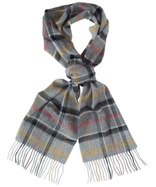 Barbour Tartan Merino Cashmere Wool Scarf - Modern Tartan