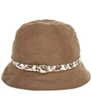 Women's Barbour British Waterways Wax Cloche Hat