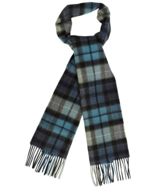Barbour New Check Tartan Scarf - Black