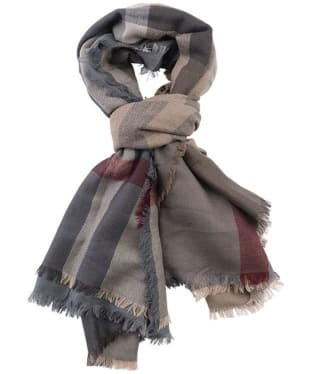 Women's Barbour Tartan Square Scarf - Winter Dress