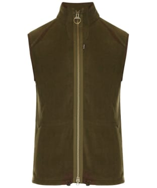 Men's Barbour Langdale Fleece Gilet - Olive