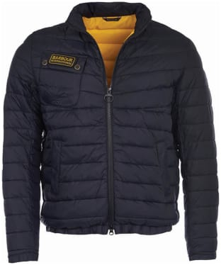 Men's Barbour International Chain Baffle Quilted Jacket