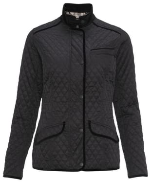 Women's Barbour Passade Quilted Jacket - Black