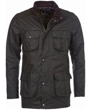 Men's Barbour Corbridge Waxed Jacket - Olive
