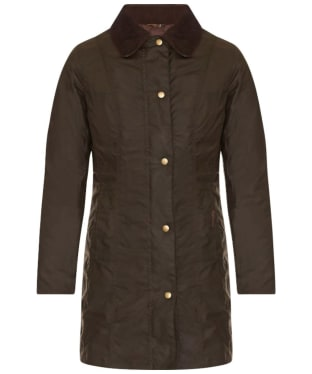 Women's Barbour Belsay Wax Jacket - Olive