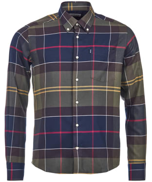 Men's Barbour John Tailored Shirt - Classic Tartan