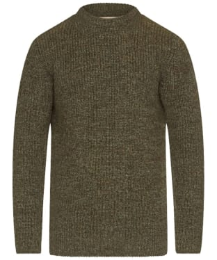 Men's Barbour New Tyne Crew Neck Sweater - Derby Tweed
