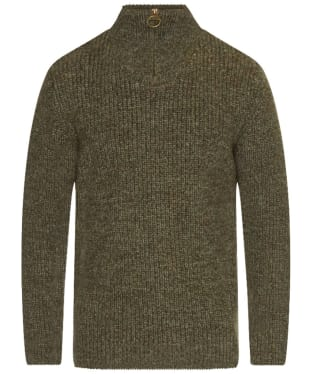 Men's Barbour New Tyne Half Zip Sweater - Derby Tweed