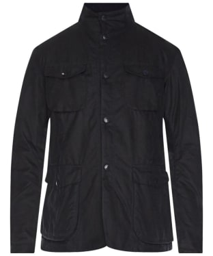 Men's Barbour Ogston Waxed Jacket - Navy