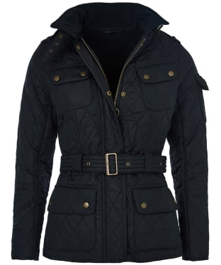 Women's Barbour International Tourer Polarquilt Jacket - Navy