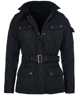 Women's Barbour International Tourer International Polarquilt Jacket - Navy