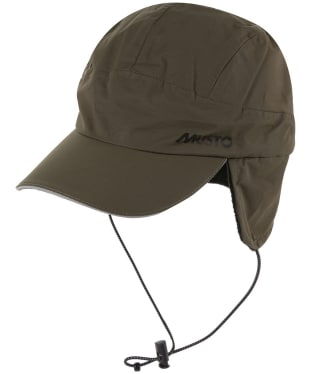 Men's Musto Waterproof Fleece Lined Cap - Dark Moss