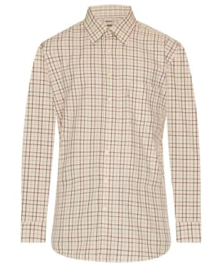 Men's Barbour Maud Shirt - Red / Khaki