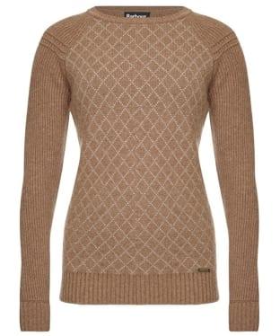 Women's Barbour International Juno Sweater - Mocha