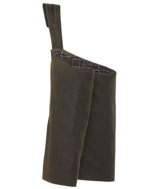 Men's Barbour Classic Sylkoil Stud-On Leggings - Short - Olive