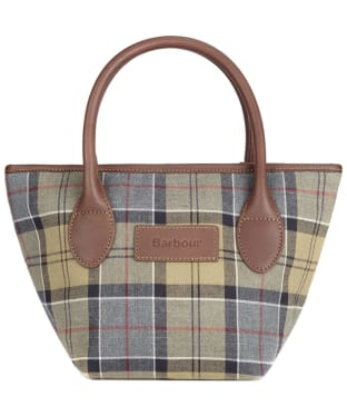 Women's Barbour Tartan Tote Bag - Dress Tartan