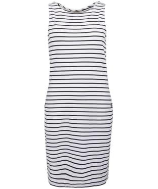 Women's Barbour Dalmore Dress - White / Navy