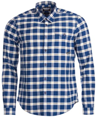 Men's Barbour International Haden Shirt - Deep Blue Check