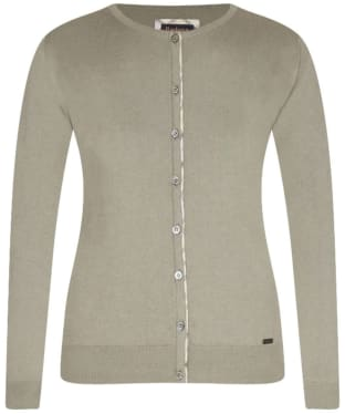 Women's Barbour Hamerley Cardigan - Pale Sage