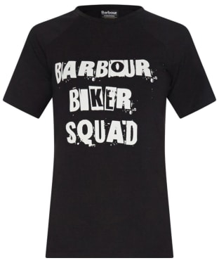Women's Barbour International Victory T-shirt - Black