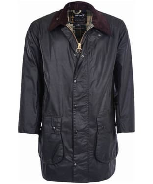 Men's Barbour Border Waxed Jacket - Sage