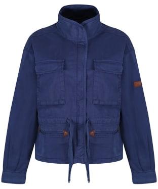 Women's Aigle Treakway Military Jacket - Indigo Blue