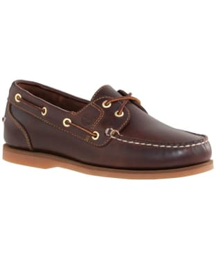 Women's Timberland Earthkeepers® Classic Amherst 2-Eye Boat Shoes - Brown