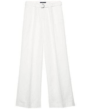 Women's Gant Flared Trousers - Off White