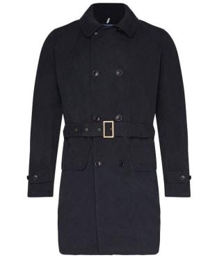 Men's Barbour Naval Belter Casual Jacket - Navy