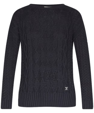 Women's Barbour Braye Sweater - Navy