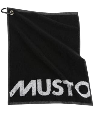 Musto Shooting Towel - Black