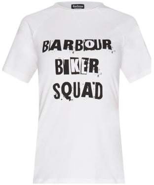 Women's Barbour International Victory T-shirt - White