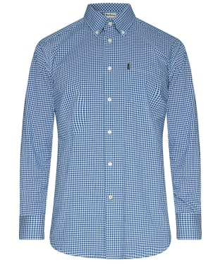 Men's Barbour Leonard Tailored Fit Shirt - Navy