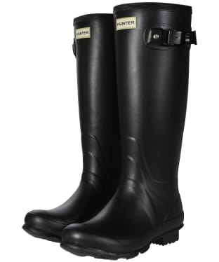 Women's Hunter Norris Field Neoprene Wellington Boots - Black