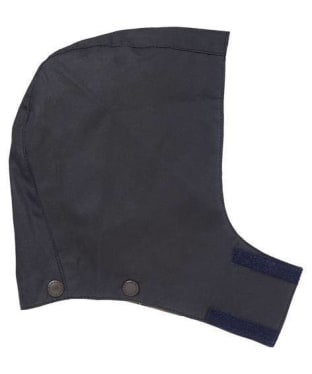 Children's Barbour Waxed Hood - Navy