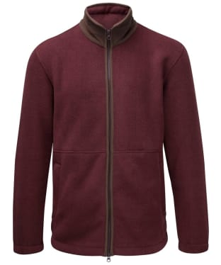 Men's Alan Paine Aylsham Fleece Jacket - Bordeaux