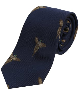 Men's Soprano Flying Pheasant Print Tie
