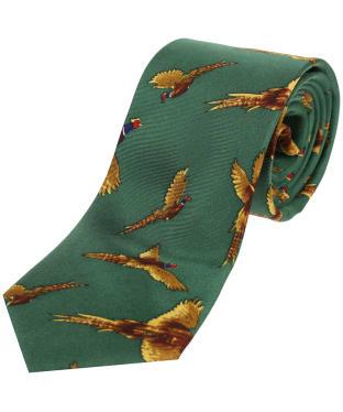 Men's Soprano Flying Pheasant Print Tie