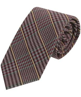Men's Soprano Checked Wool Tie