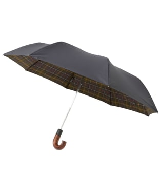 Barbour Premium Tartan Telescopic Umbrella