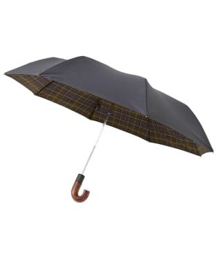 Barbour Premium Tartan Telescopic Umbrella